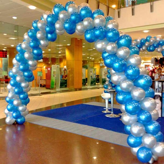 25ft balloon arch call us before order loveshopgift for Balloon decoration in noida